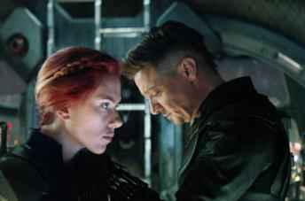Black Widow e Occhio di Falco