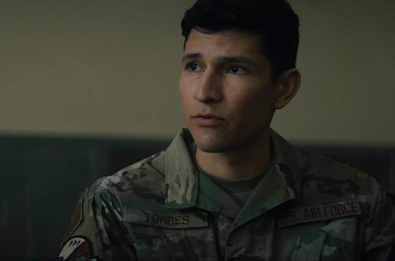 Joaquín Torres nel quinto episodio di The Falcon and the Winter Soldier