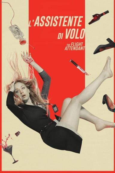 Poster L'assistente di volo - The Flight Attendant