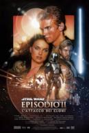 Poster Star Wars: Episodio II - L'attacco dei cloni