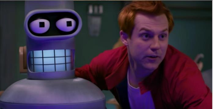 Bender e Fry dal fan film Fan-O-Rama