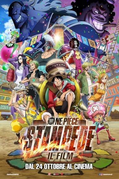 Poster One Piece: Stampede - Il film