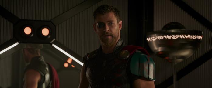 Thor conversa con Loki nel finale di Thor: Ragnarok