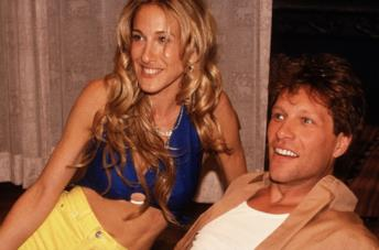 Sarah Jessica Parker e Jon Bon Jovi in Sex and the City