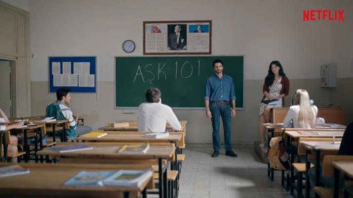 Love 101 - una scena della serie TV Turca