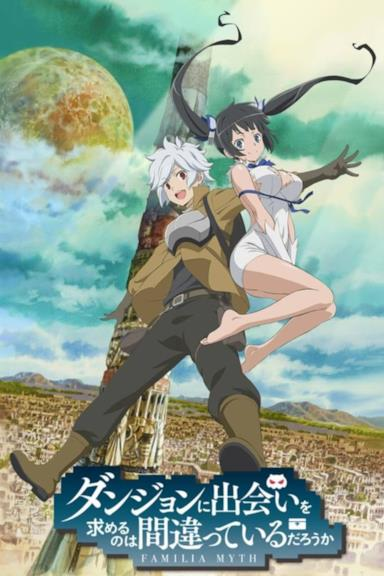 Poster DanMachi - Is It Wrong to Pick Up Girls in a Dungeon?