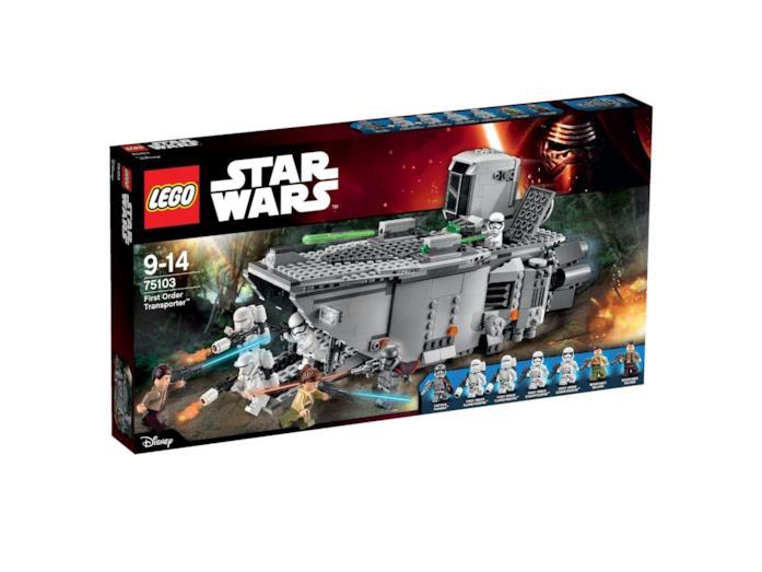 LEGO - Star Wars 75103 First Order Transporter foto scatola