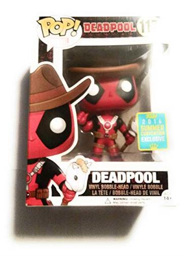 Funko 7493 - Pop Vinyl Figure 117, Deadpool Cowboy Edition