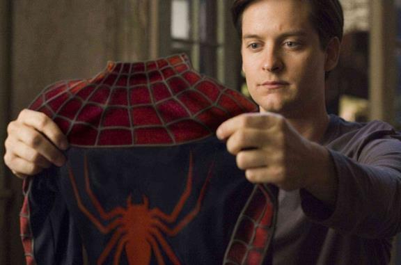 Un'immagine di Tobey Maguire in Spider-Man