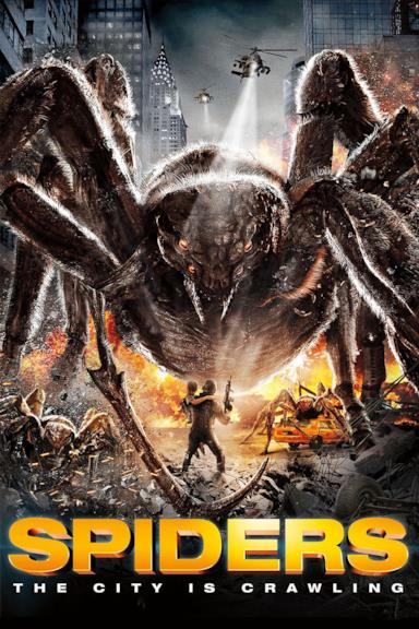Poster Spiders 3D