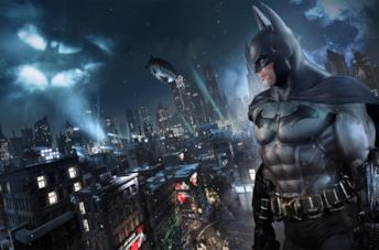 Il Cavaliere Oscuro con Unreal Engine 4 in uno scatto di Batman: Return to Arkham