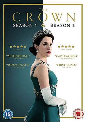 Cofanetto DVD di The Crown - Seasons 1-2