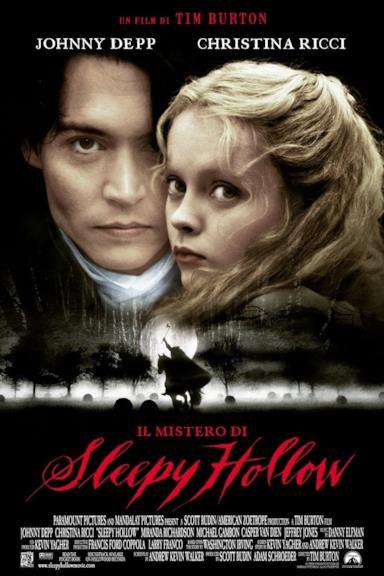 Poster Il Mistero Di Sleepy Hollow