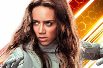 Primo piano di Hannah John-Kamen in Ant-Man and the Wasp