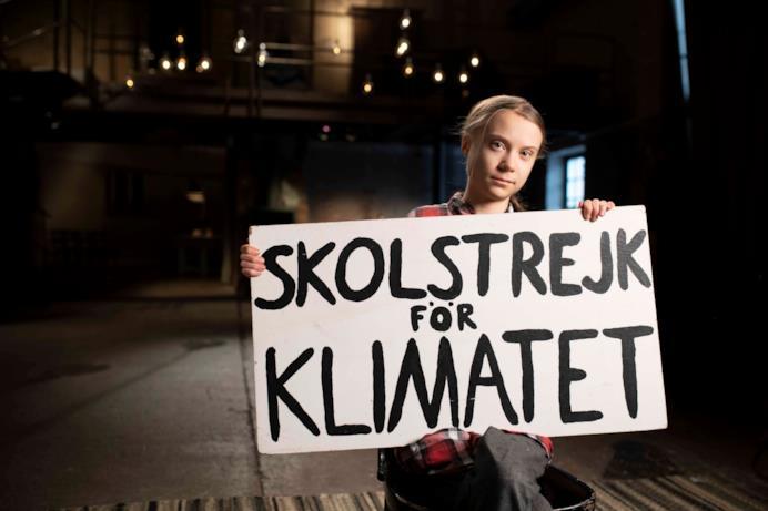 Greta Thunberg - Un anno per salvare il mondo: una scena del docu-film