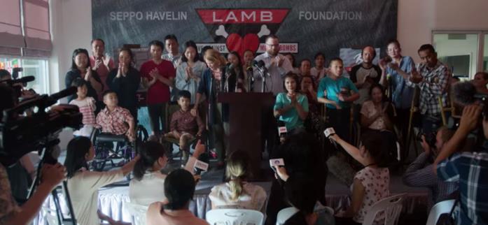 La conferenza stampa della LAMB