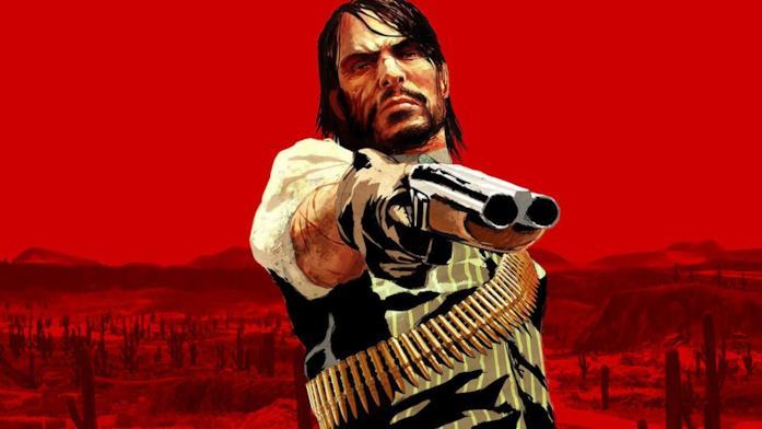 John Marston nel primo Red Dead Redemption