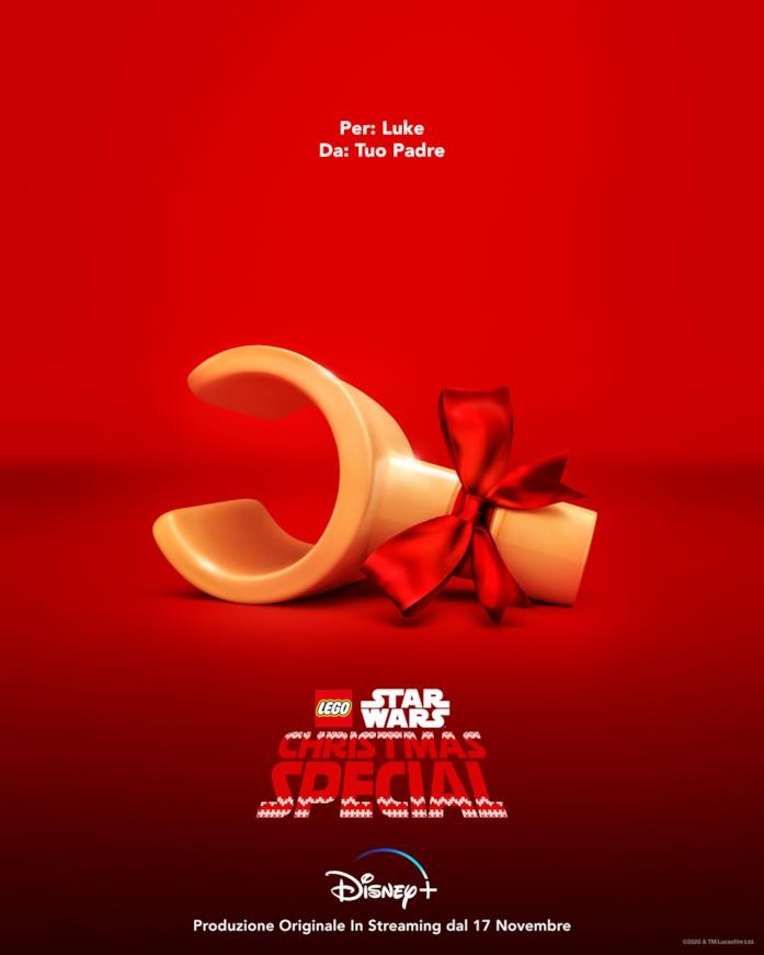 Il poster di LEGO Star Wars Christmas Special