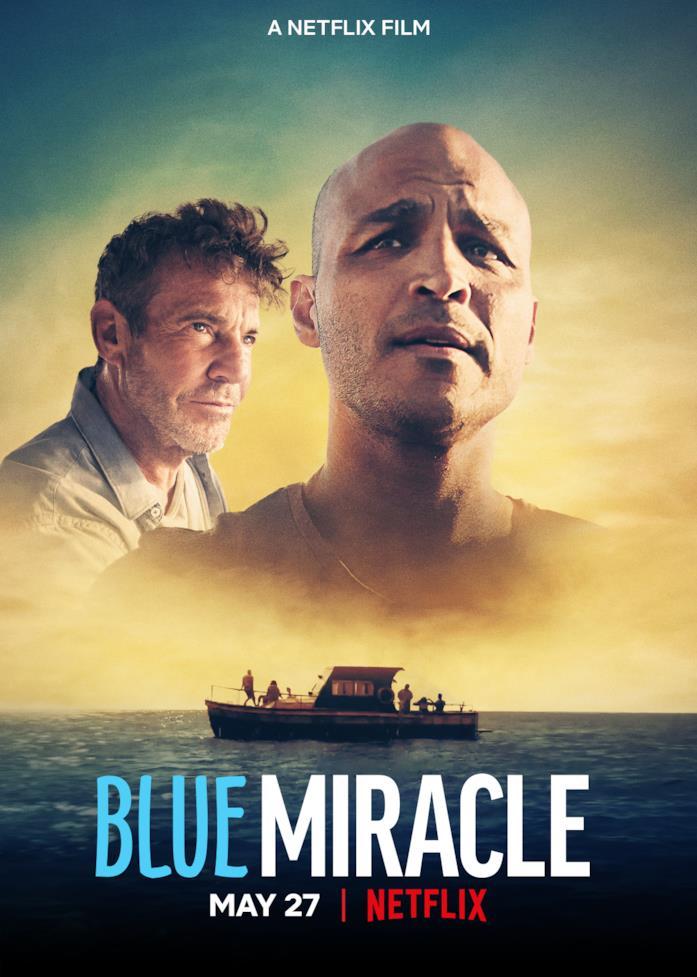 Il poster di Blue Miracle - A pesca per un sogno