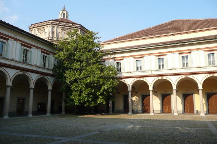 Esterno Conservatorio Giuseppe Verdi Milano