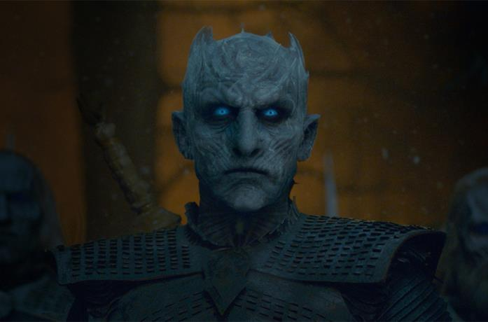 Il Night King in Game of Thrones 8