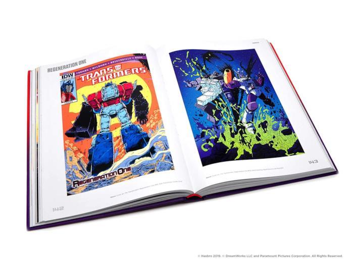 Trasformers a visual history, il libro Hasbro sui trasformers