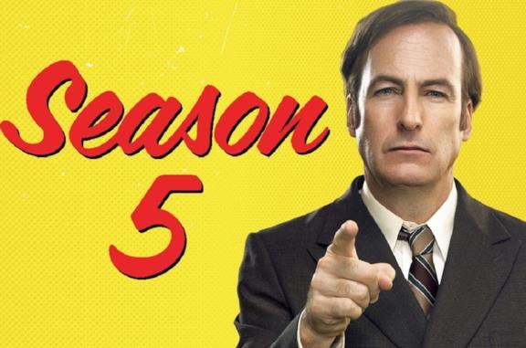 Bob Odenkirk nel poster della quinta stagione di Better Call Saul