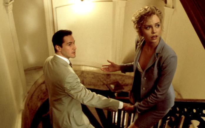 Kevin e Mary Ann in una scena de L'avvocato del diavolo
