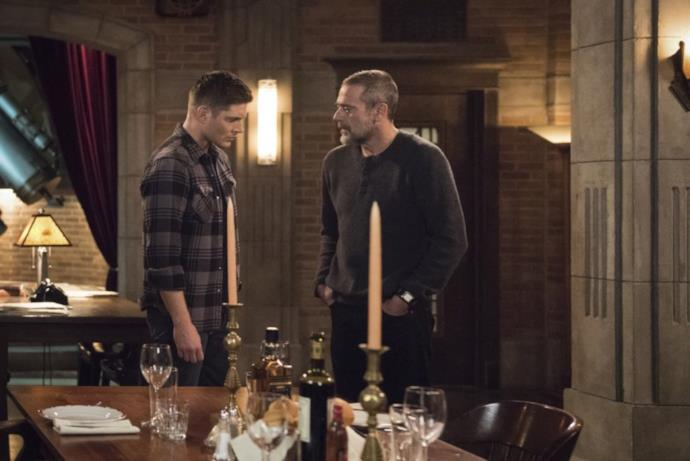 Supernatural: Dean con il padre John Winchester