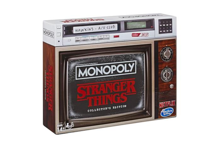 La scatola di Monopoly: Stranger Things Collector's Edition