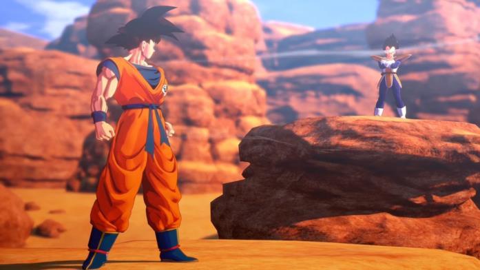 Dragon Ball Z Kakarot Vegeta e Goku
