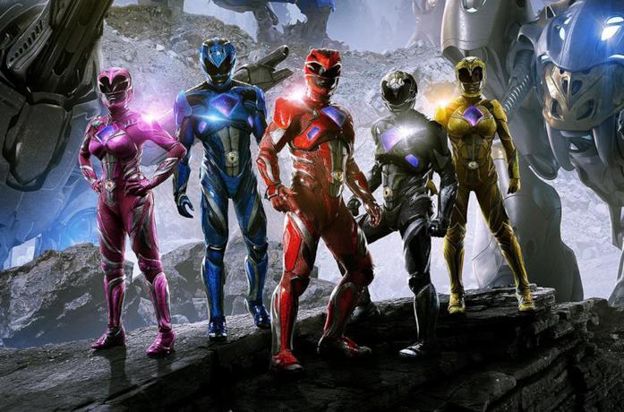 Un'immagine dei Power Rangers