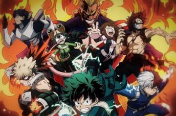 My Hero Academia: i protagonisti dell'anime