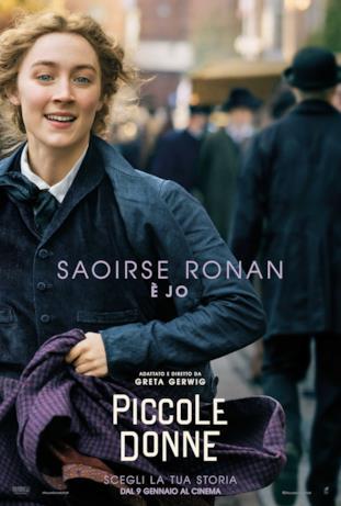 Jo è la secondogenita, protagonista assoluta del romanzo della Alcott