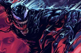 Venom in una immagine promozionale del primo film