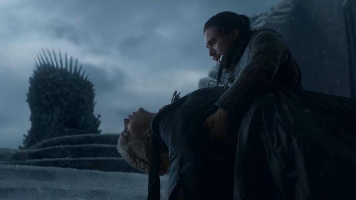 GoT 8: la scena finale di Jon e Daenerys