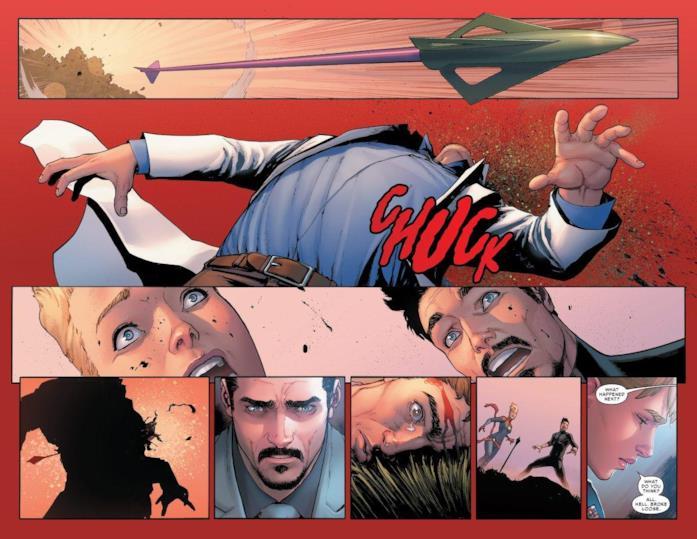 La morte di Bruce Banner in Civil War II #3