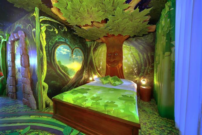 Stanze Foresta Incantata per adulti - Gardaland Magic Hotel