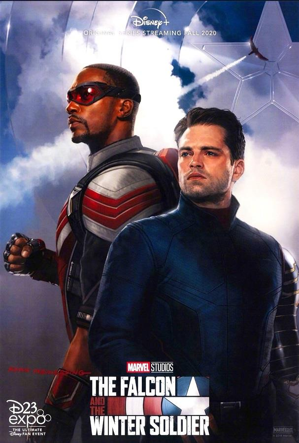 Il poster ufficiale di The Falcon and The Winter Soldier, in arrivo su Disney+