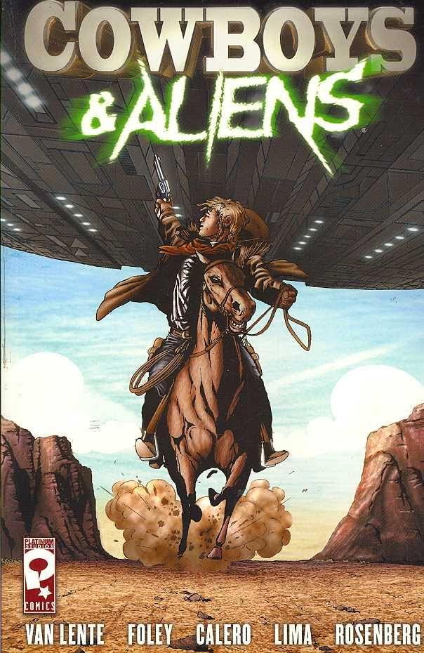 Cowboys and Aliens, graphic novel di Platinum Studios