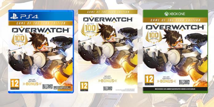 Overwatch è disponibile nei negozi nelle versioni PC, PS4 e Xbox One