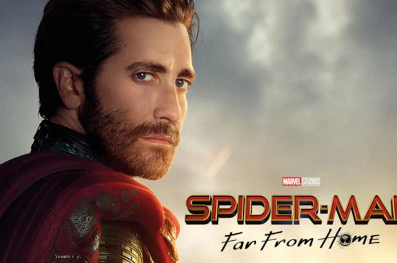 Jake Gyllenhaal e Tom Holland in Spider-Man: Far From Home