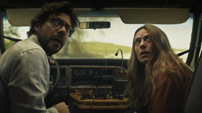 Il Professore e Raquel Murillo bloccati dalla polizia