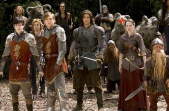 Una scena tratta da Le cronache di Narnia - Il principe Caspian