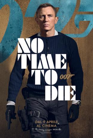 Daniel Craig - poster di No Time To Die