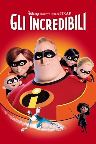 Poster Gli Incredibili