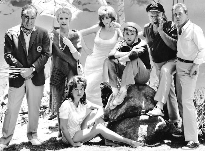Il cast de L'isola di Gilligan