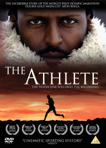Il poster del film L'atleta – Abebe Bikila