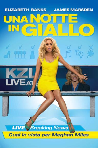Poster Una notte in giallo