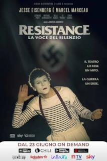 Poster Resistance - La voce del silenzio